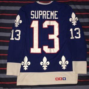 Supreme Fleur de Lis Hockey Jersey